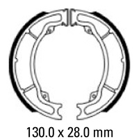 FERODO BRAKE SHOE SET - FSB960