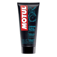 MOTUL E6 CHROME & ALU POLISH  100ML CTN12