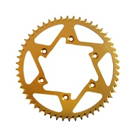 JT  ALLOY RACING SPROCKET - 43T 520P - GOLD