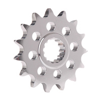 VORTEX STEEL FRONT SPROCKET 520-13T - NICKEL