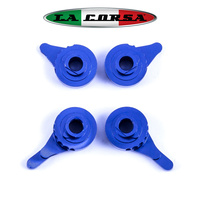 LA CORSA - LEVER ADJUSTER SET  - BLUE (4 Pcs Per PK)