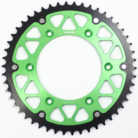 SPROCKET STATES MX FUSION KAWASAKI GREEN
