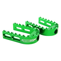 STATES MX FOOTPEG REPLACEMENT OUTER ADJ GREEN