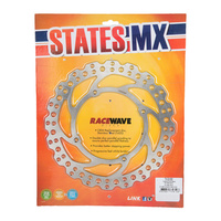 DISC ROTOR STATES MX RACE WAVE HONDA FRONT 240MM