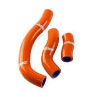 STATES MX HOSE SET SILICONE KTM ORANGE