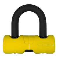 ABUS 405/100HB45 DISK LOCK YELLOW