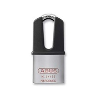 ABUS PADLOCK 'STRADA MINI' CHROME ^^(Part# 34/55 HB50 CHROME )