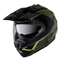 Caberg Tourmax Helmet - Sonic Black/Fluro Yellow