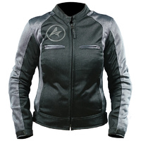 Ladies Shark Blast Summer Jacket Blk/Platinum