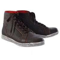 OXFORD JERICHO BOOTS - BROWN
