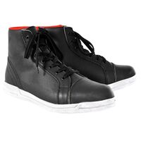 OXFORD JERICHO BOOTS - BLACK / WHITE
