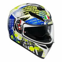 AGV K-3 SV - Pop - White/Lime