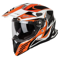 Airoh Commander Carbon Orange Gloss