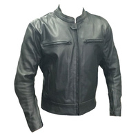 Shark Carbon Leather Jacket