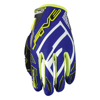 "Five Glove - ""MXF Pro Rider"" - Blue/Yellow"