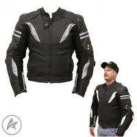 Stunt Air Leather Jacket
