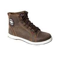 "Mens Motodry Boot ""Urban Leather Air"" - Brown"