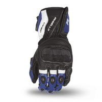 "Motodry Gloves ""Mugello"" Leather - Black/Blue/White"