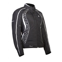 "Ladies Motodry Jacket ""Chanel"" - Black/White"