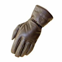 Merlin Gloves Stone Leather - Brown