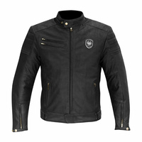 Merlin Jacket Alton Leather - Black