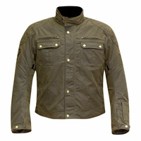 Merlin Jacket Sandon Wax - Brown