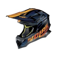 Nolan N-53 Whoop Black/Orange/Blue