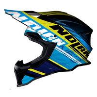 Nolan N-53 XSM Flaxy Blue/Yellow