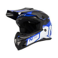 Nitro MX620 Podium Junior Black/Blue/White