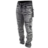 Shark Mens Protective Distressed Stretch Cargos