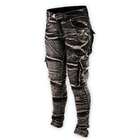 Shark Ladies Protective Distressed Stretch Cargos